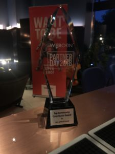 Net at Work Top Community Contributor Award